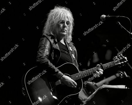 Lucinda Williams performs Car Wheels on a Gravel Road at Danforth Music Hall in Toronto.