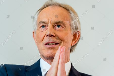Tony Blair speaking about progressive politics in the populist era at a Strand Group event for King's College London at the British Academy.