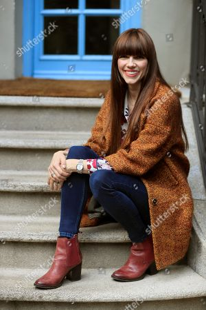 Stock Picture of Australian writer Kate Morton poses for the photographer during an interview with Spanish News Agency Agencia EFE to present her latest novel 'The Clockmaker's Daughter', in Madrid, Spain, 14 November 2018.