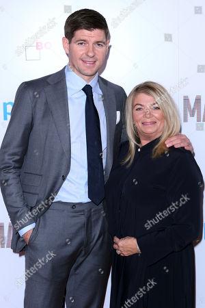 Steve Gerrard and mother