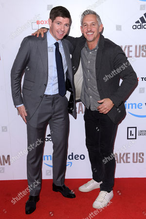 Editorial picture of 'Make Us Dream' documentary film premiere, London, UK - 14 Nov 2018