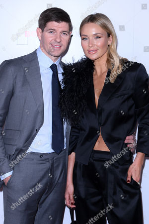 Stock Picture of Steve Gerrard and Alex Curran