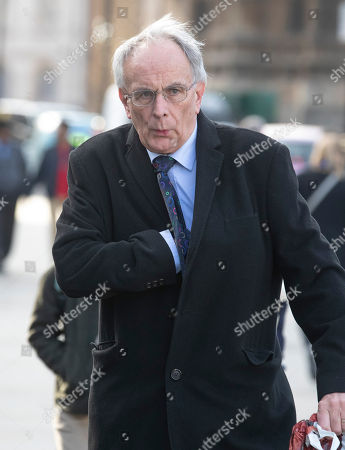 Peter Bone MP arrives at Parliament for Prime Minister's Questions