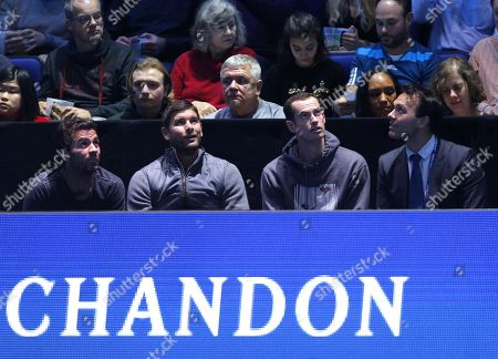 Editorial picture of Nitto ATP Tennis Finals, Day Four, 02 Arena, London, UK - 14 Nov 2018