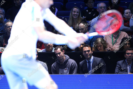 Editorial image of Nitto ATP Tennis Finals, Day Four, 02 Arena, London, UK - 14 Nov 2018