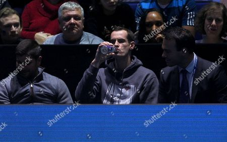 Editorial photo of Nitto ATP Tennis Finals, Day Four, 02 Arena, London, UK - 14 Nov 2018