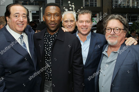 Nick Vallelonga (Producer, Wriet), Mahershala Ali, Joe Cortese, Brian Currie (Producer, Writer), Charles B. Wessler(Producer)