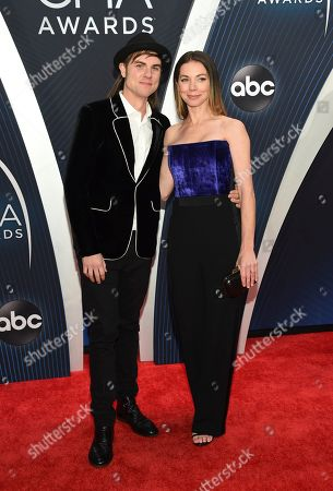 Ross Copperman, Katlin Copperman. Ross Copperman, left, and Katlin Copperman arrive at the 52nd annual CMA Awards at Bridgestone Arena, in Nashville, Tenn