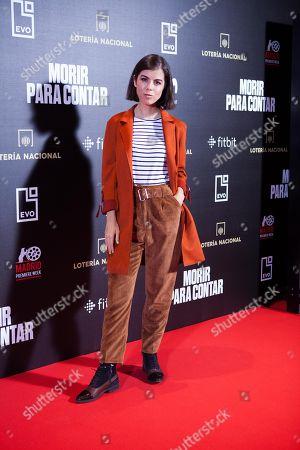 Editorial image of 'Morir para contar' photocall, Madrid, Spain - 13 Nov 2018
