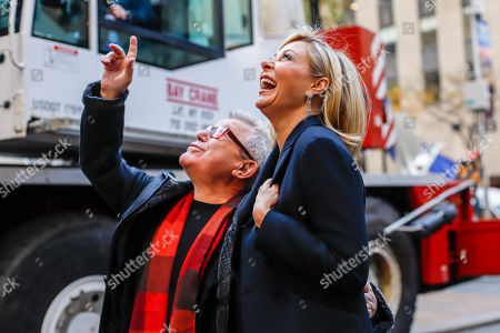 Daniel Libeskind and Nadja Swarovski