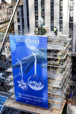 A view of the 2018 Swarovski Star