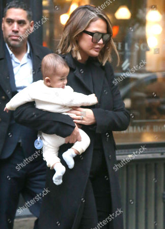 Chrissy Teigen and Miles Theodore Stephens