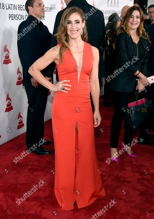 Soledad Pastorutti arrives at the Latin Recording Academy Person of the Year gala honoring Mana at the Mandalay Bay Events Center on