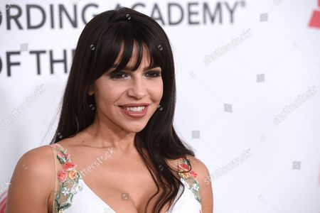 Vida Guerra arrives at the Latin Recording Academy Person of the Year gala honoring Mana at the Mandalay Bay Events Center on