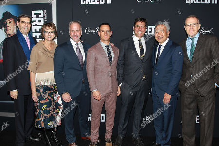 Editorial photo of World Premiere of CREED II, New York, USA - 14 Nov 2018