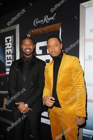 Michael B. Jordan and Terrence Jenkins