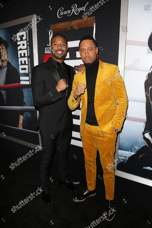 Editorial photo of World Premiere of 'CREED II', New York, USA - 14 Nov 2018