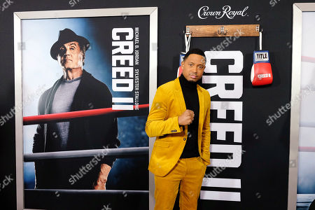 Editorial picture of World Premiere of 'CREED II', New York, USA - 14 Nov 2018