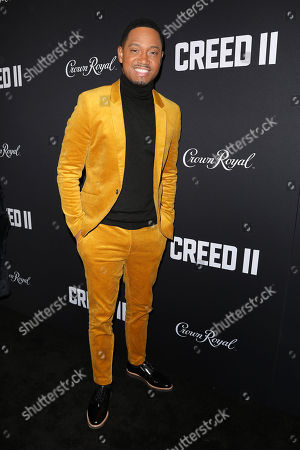 Editorial image of World Premiere of 'CREED II', New York, USA - 14 Nov 2018