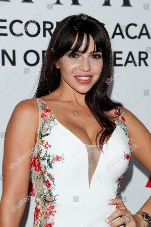 US-Cuban glamour model Vida Guerra arrives for the 2018 Latin Recording Academy Person of the Year Gala at the Mandalay Bay Convention Center in Las Vegas, Nevada, USA, 14 November 2018. Latin Grammy Awards recognize artistic and/or technical achievement, not sales figures or chart positions, and the winners are determined by the votes of their peers-the qualified voting members of the academy.