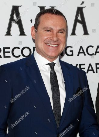 Alan Tacher arrives for the 2018 Latin Recording Academy Person of the Year Gala at the Mandalay Bay Convention Center in Las Vegas, Nevada, USA, 14 November 2018. Latin Grammy Awards recognize artistic and/or technical achievement, not sales figures or chart positions, and the winners are determined by the votes of their peers-the qualified voting members of the academy.