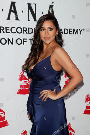 Stock Picture of Ydelays arrives for the 2018 Latin Recording Academy Person of the Year Gala at the Mandalay Bay Convention Center in Las Vegas, Nevada, USA, 14 November 2018. Latin Grammy Awards recognize artistic and/or technical achievement, not sales figures or chart positions, and the winners are determined by the votes of their peers-the qualified voting members of the academy.
