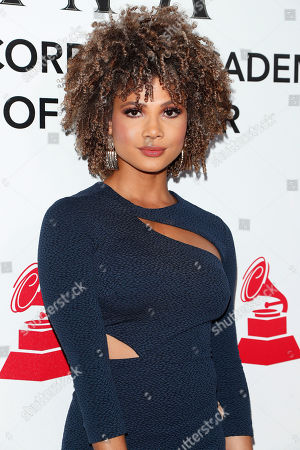 Doralys Britto arrives for the 2018 Latin Recording Academy Person of the Year Gala at the Mandalay Bay Convention Center in Las Vegas, Nevada, USA, 14 November 2018. Latin Grammy Awards recognize artistic and/or technical achievement, not sales figures or chart positions, and the winners are determined by the votes of their peers-the qualified voting members of the academy.