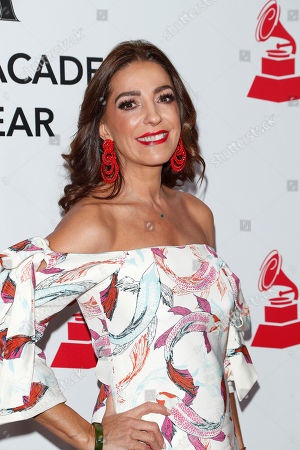Stock Photo of Kika Rocha arrives for the 2018 Latin Recording Academy Person of the Year Gala at the Mandalay Bay Convention Center in Las Vegas, Nevada, USA, 14 November 2018. Latin Grammy Awards recognize artistic and/or technical achievement, not sales figures or chart positions, and the winners are determined by the votes of their peers-the qualified voting members of the academy.