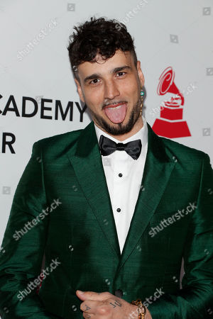 Argentine singer Dante Spinetta arrives for the 2018 Latin Recording Academy Person of the Year Gala at the Mandalay Bay Convention Center in Las Vegas, Nevada, USA, 14 November 2018. Latin Grammy Awards recognize artistic and/or technical achievement, not sales figures or chart positions, and the winners are determined by the votes of their peers-the qualified voting members of the academy.