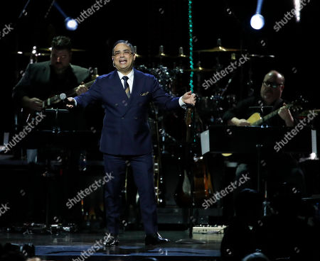 Puerto Rican musician Gilberto Santa Rosa performs at the 2018 Latin Recording Academy Person of the Year Gala honoring Mana at the Mandalay Bay Convention Center in Las Vegas, Nevada, USA, 14 November 2018. Latin Grammy Awards recognize artistic and/or technical achievement, not sales figures or chart positions, and the winners are determined by the votes of their peers-the qualified voting members of the academy.
