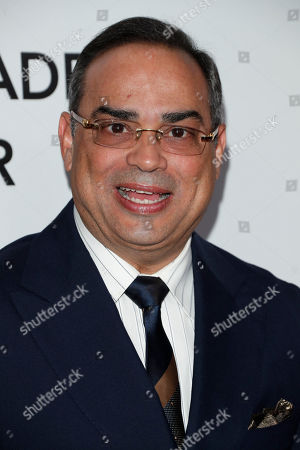 Puerto Rican musician Gilberto Santa Rosa arrives for the 2018 Latin Recording Academy Person of the Year Gala at the Mandalay Bay Convention Center in Las Vegas, Nevada, USA, 14 November 2018. Latin Grammy Awards recognize artistic and/or technical achievement, not sales figures or chart positions, and the winners are determined by the votes of their peers-the qualified voting members of the academy.