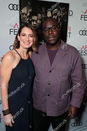 Gillian Flynn, Writer, Steve McQueen, Director/Writer/Producer,