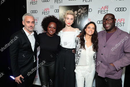 Iain Canning, Producer, Viola Davis, Elizabeth Debicki, Michelle Rodriguez, Steve McQueen, Director/Writer/Producer,