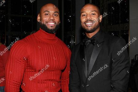Corey Calliet and Michael B. Jordan