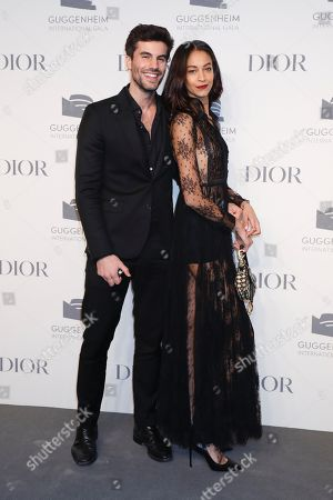 Editorial picture of Guggenheim International Gala Pre-Party, Arrivals, New York, USA - 14 Nov 2018