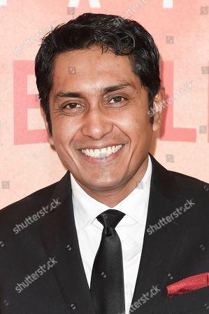 "Tenoch Huerta attends Netflix's ""Narcos: Mexico Season 1"" premiere event at Regal Cinemas L.A. LIVE, in Los Angeles"
