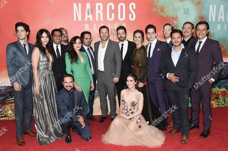 Editorial image of Netflix's Narcos: Mexico Season 1 Premiere Event, Los Angeles, USA - 14 Nov 2018