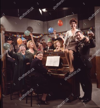 Editorial picture of 'Coronation Street' TV Show - 1967