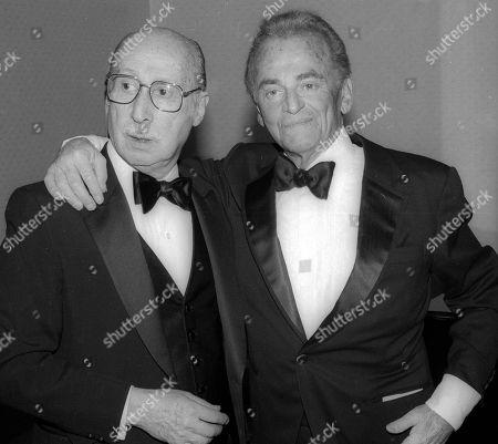 Sammy Cahn and Allan Jay Lerner