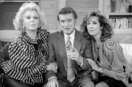 Zsa Zsa Gabor, Regis Philbin and Kathy Lee Gifford