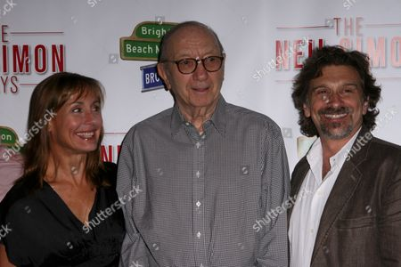 Laurie Metcalf, Neil Simon and Dennis Boutsikaris