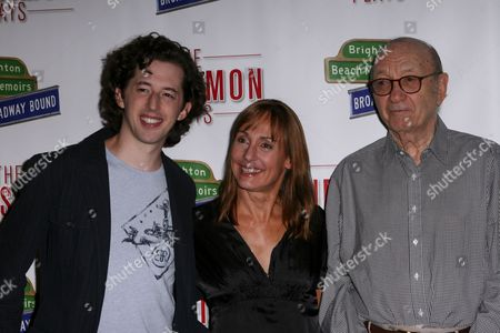 Josh Grisetti, Laurie Metcalf and Neil Simon