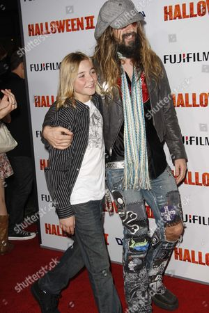 Stock Picture of Chase Wright Vanek and Rob Zombie