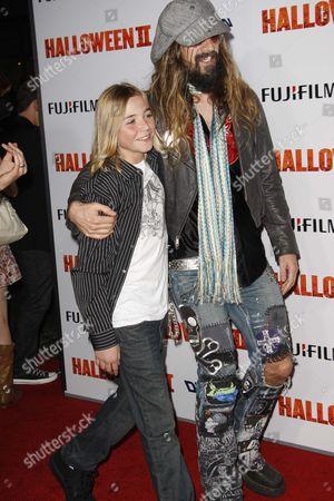 Chase Wright Vanek and Rob Zombie