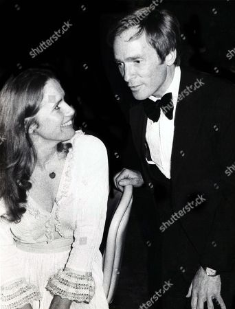 Liv Ullman and Dick Cavett