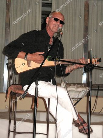 Editorial photo of Noel Janus at the PRS (Performing Rights Society) and Musicians Union Convention at the Melia Hotel, Porto Banus, Marbella, Spain - Jun 2009
