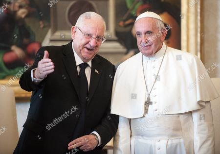 President of Israel Reuven Rivlin papal audience, Vatican City