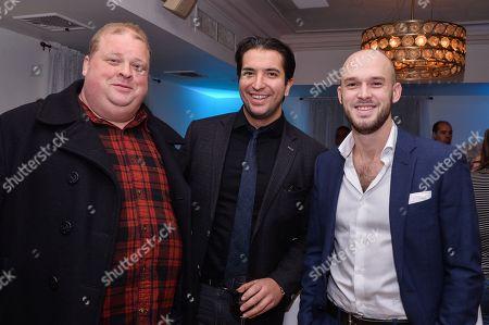 Joel Garland, Alex Riad, Evan Hall