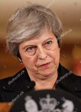 Prime Minister Theresa May Brexit press conference, London