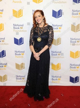 Stock Photo of Rebecca Makkai attends the 69th National Book Awards Ceremony and Benefit Dinner at Cipriani Wall Street, in New York